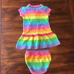 Carter's Dresses - Rainbow Multicolor Dress